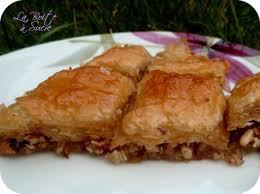 recette cuisine turc baklava la des patisseries orientales recette turque