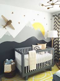 Unisex Nursery Curtains Our Nursery Crib By Babyletto Fixture From Schoolhouse Electric