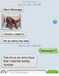 Text Message Memes - 25 best memes about wrong number text messages wrong number