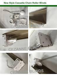 metal chain cassette chain roller blinds cassette window chain