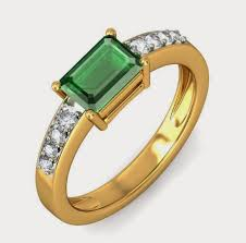 diamond ring for men design men green diamond yellow gold engagement ring design