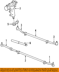 jeep suspension diagram jeep chrysler oem 99 04 grand cherokee steering gear steering