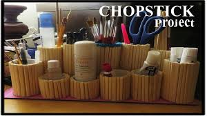 Roll Top Desk Organizer by Let U0027s Recycle Chopstick And Toilet Roll Youtube