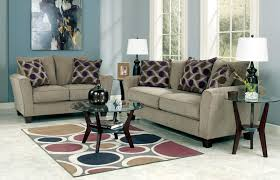 Living Room Sets By Ashley Furniture Trinsic Pebble Sofa And Loveseat Set 13301 Ashley Furniture