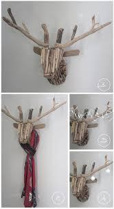 the 25 best deer heads ideas on geometry wall