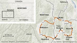 Montana Map Cities by Montana U0027s Ghost Towns A Mother Lode For Nuggets Of Western History