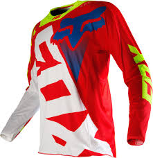 fox motocross jerseys fox jersey 360 shiv red white 2016 maciag offroad