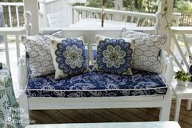 Piano Bench Cushion Pattern Sewing A Bench Cushion With Piping Pretty Handy