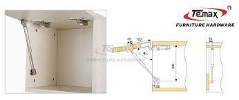 Kitchen Cabinet Hardware Hinges 2x 100n Hydraulic Gas Strut Lift Support Kitchen Cabinet Supports