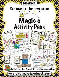 resources for teaching the magic e rule make take u0026 teach