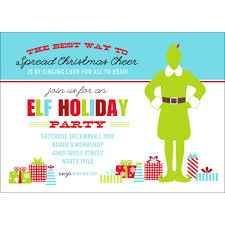 use this buddy the elf christmas party printable invitation to get