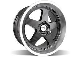 17x10 mustang wheels ford mustang dish sc wheel 17x10 black 79 93 392 lrs