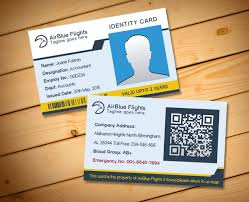 company employee identity card design templates free vector in
