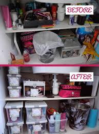 cabinet organisation and small bathroom storage ideas