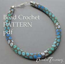 bead necklace style images City style bead crochet pattern necklace pattern bead crochet etsy jpg