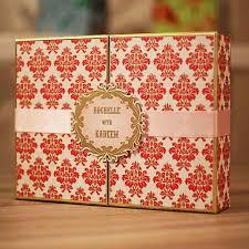 indian wedding gift box indian wedding invitations upani design studio