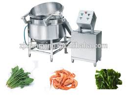 xypgr 200 industrial kitchen equipment saefood blanching cooking