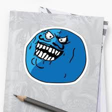 Meme I Lied - i lied blueberry face meme stickers by excessiveside redbubble