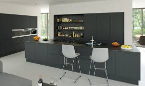 coloured fitted kitchens unit doors
