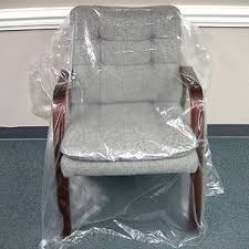 plastic chair covers genco upholstery supplies sofa and chair covers
