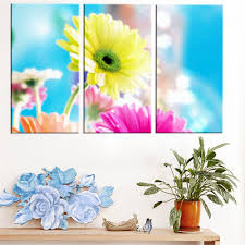compare prices on kid roo online shopping buy low price kid roo modern oil paiting printed cartoon flower painting modular pictures wall art landscape canvas painting for room