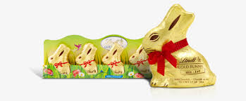 gold bunny lindt chocolate
