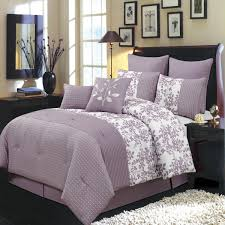 Cheap Purple Bedding Sets 12 Bliss Purple Bed In A Bag Bedding Set