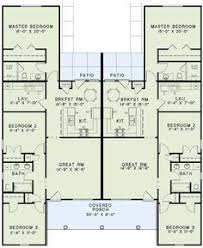 Multi Unit House Plans Cottage Country Ranch House Plan 62386 Lakes The Depths And Sleep