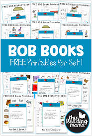 free bob book printables set 1 book 12 the vet