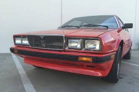 1985 maserati biturbo you want the u0027wheeler dealers u0027 electric maserati