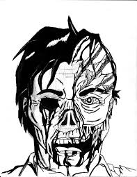 pics of scary zombie coloring pages u2013 zombie coloring pages