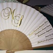 fans for weddings personalized fans for summer weddings your wedding program