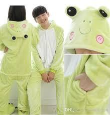 2018 forest frog kigurumi pajamas animal suits cosplay