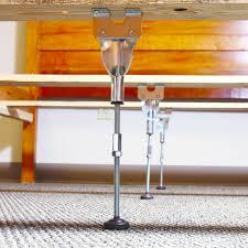 Support Bed Frame Adjustable Center Leg Bed Frame Support