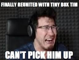 Tim Meme - miserable luck mark tiny box tim meme by lassietheartist on