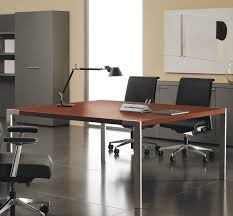 Designer Boardroom Tables Contemporary Boardroom Table Wooden Metal Rectangular P70