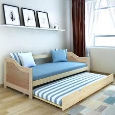 lit canape vidaxl canapé lit de jour bois de pin naturel 200 x 90 cm achat