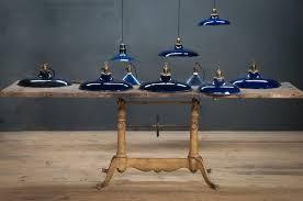 Blue Pendant Lights Vintage Cobalt Blue Pendant Lights Factory 20