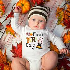baby boys clothes fall autumn thanksgiving newborn infant my