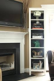 mount tv brick fireplace hide wires how to cords above ct mounted