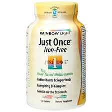 rainbow light just once iron free multivitamin myotcstore com buy multi vitamins products at discount prices page 7