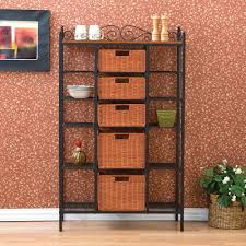 Bakers Rack Shelves Honey Can Do Chrome 2 Shelf Urban Baker U0027s Rack Shf 01608 The