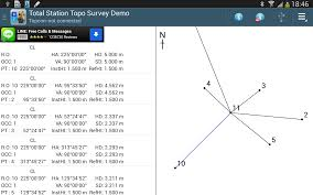 total station topo survey demo android apps on google play