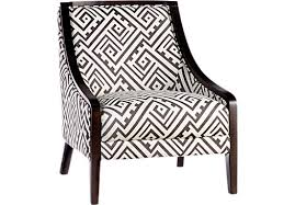 Grey And White Accent Chair Reina Point Black Accent Chair Accent Chairs Black