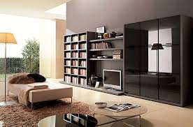 living room wall units black faux leather lounge sofa chocolate