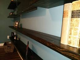 How To Build Wood Shelf Supports by Shelving How Can I Hang A Shelf With No Visible Fasteners