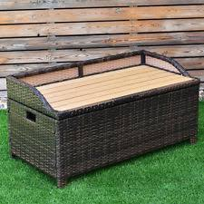 Wicker Storage Bench Wicker Storage Box Ebay