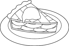 emejing pie coloring pages gallery style ideas