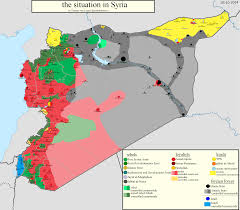 Map Of Syria And Surrounding Countries by Kobani Maps Ian Bach