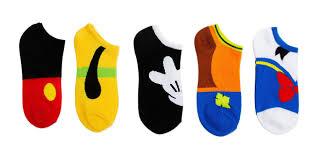 disney s classic 5 pack no show socks cool stuff